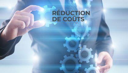 illustration réduction des coûts